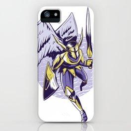Engel Ritter iPhone Case