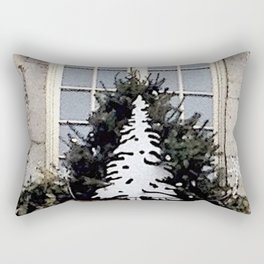 Christmas in Old Montreal Rectangular Pillow
