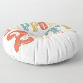 Support 25th Amendment Funny Anti Trump Vintage Gift Floor Pillow