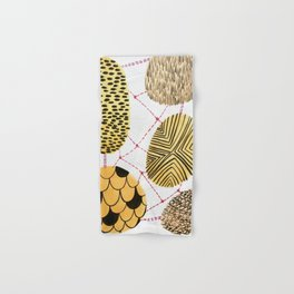Honey Orbs Hand & Bath Towel