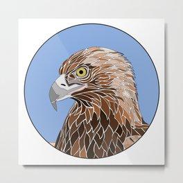 Bird of Prey Metal Print