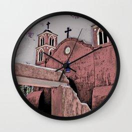 San Miguel Mission, Socorro, New Mexico Wall Clock