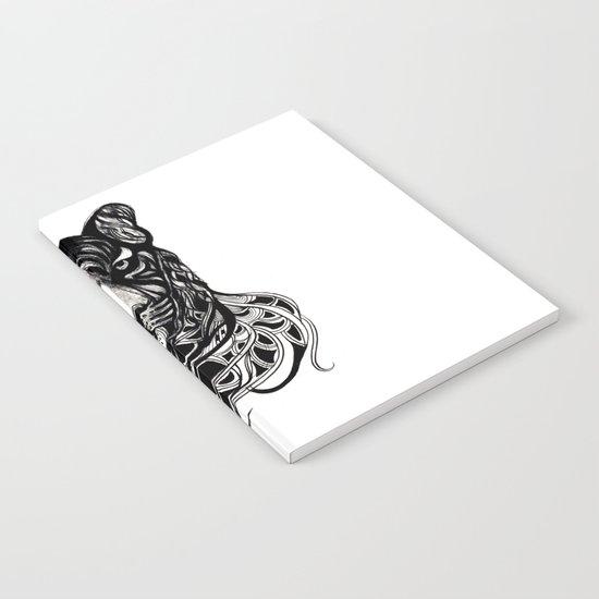 Tiger - Original Drawing  Notebook