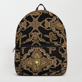 Beaded Baroque Backpack