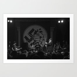 Anti-Flag Art Print