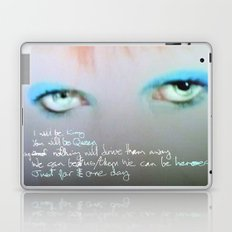 just for one day Laptop & iPad Skin