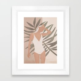 Summer Day Framed Art Print