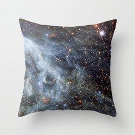 Magellanic cloud Throw Pillow
