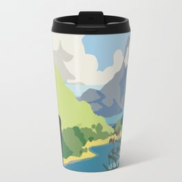 """A New Land"" (Triple Town) Travel Mug"