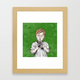 Finders, Keepers Framed Art Print