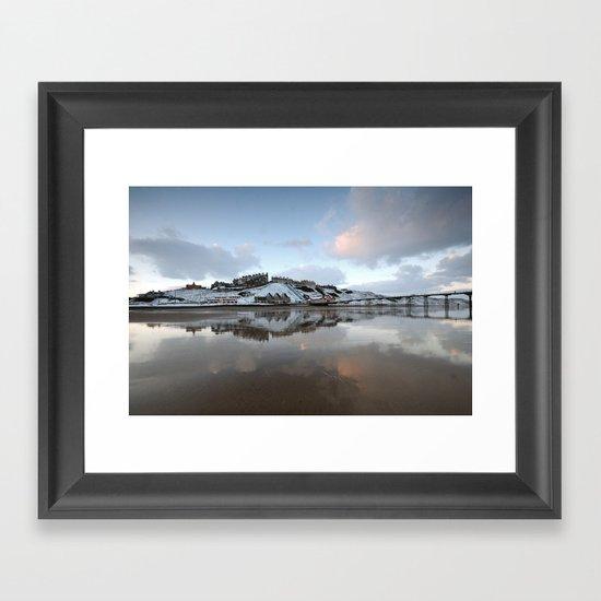 Saltburn by the Sea Framed Art Print