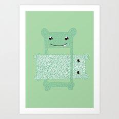 Eaten. Art Print