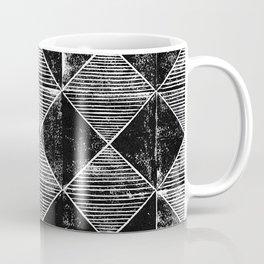 Chequers I Black Coffee Mug