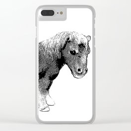 The Ever-So-Cute Pony Clear iPhone Case