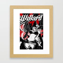 Buxom Wench: Pirate Framed Art Print