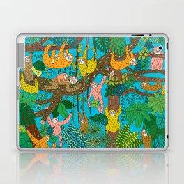 Happy Sloths Jungle Laptop & iPad Skin