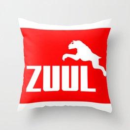 Zuul athletic Throw Pillow