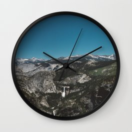 Glacier Point, Yosemite National Park IV Wall Clock