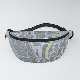 Pico Mountain Resort Trail Map Fanny Pack
