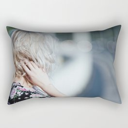 Pastel summer Rectangular Pillow