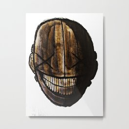 Smiling jack face Metal Print