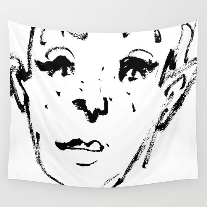Sketch Wall Tapestry