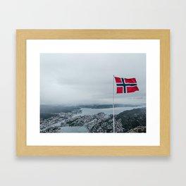 Ulriken Framed Art Print