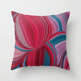 Multicolored Spheres Throw Pillow