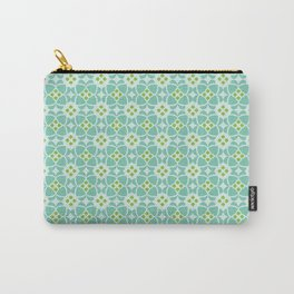 Mediterranean sky blue tiles Carry-All Pouch