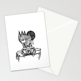 House Crab Stationery Cards