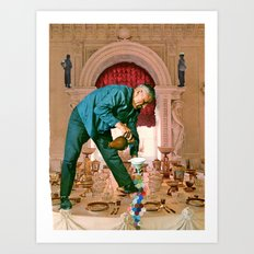 Table Manners Art Print