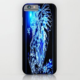 Bird Models: Magnified Eagle 01-01 iPhone Case