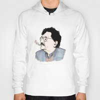 kurt vonnegut Hoodies featuring Kurt by JT Illustrates