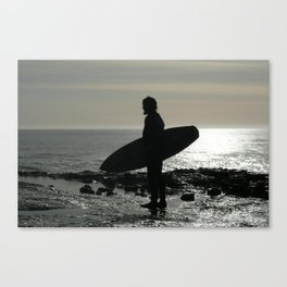 on the edge of america Canvas Print