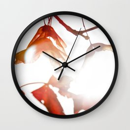 Autumn Sonata III Wall Clock