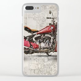 Indian Chief 1946 Clear iPhone Case