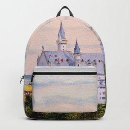 Neuschwanstein Castle Bavaria Germany Backpack