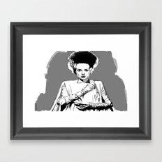 Bride 2.. Framed Art Print