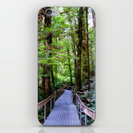 Rainforest Gallery, Warburton, Victoria iPhone Skin