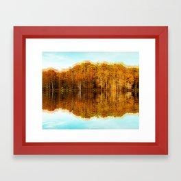 Double Caddo Lake Framed Art Print