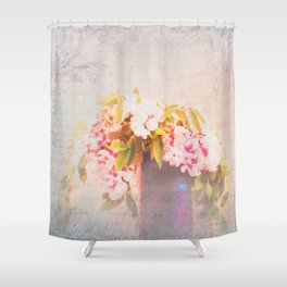 Romantic Whispers Shower Curtain