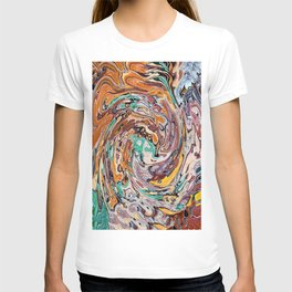 Abstract Painting X 9 T-shirt