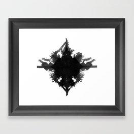 Rorschach || Framed Art Print