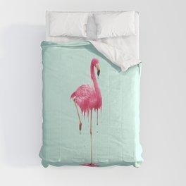 MELTING FLAMINGO Comforters