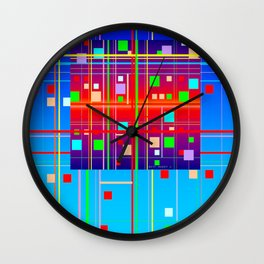 New Year's Wall Clock