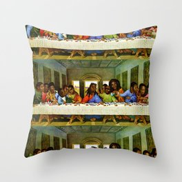Last Supper Throw Pillow
