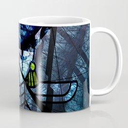 Pirates Flag with Dark Forest 8 Coffee Mug