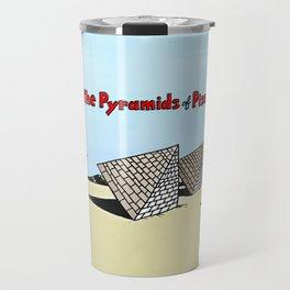The Pyramids of Pisa Travel Mug