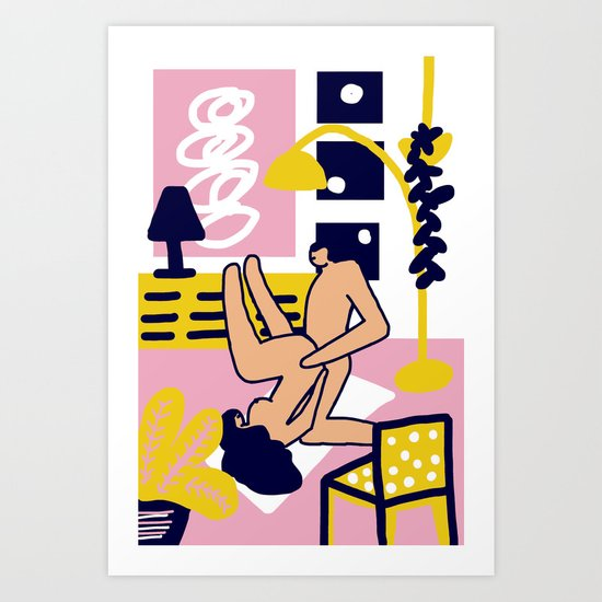 Mamacitas Club Art Print