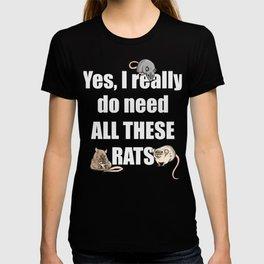 Rat Lover T-shirt